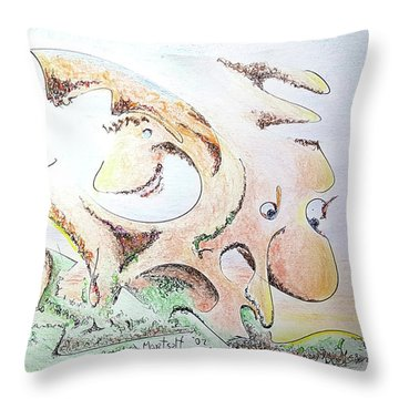The Living Planet Throw Pillow