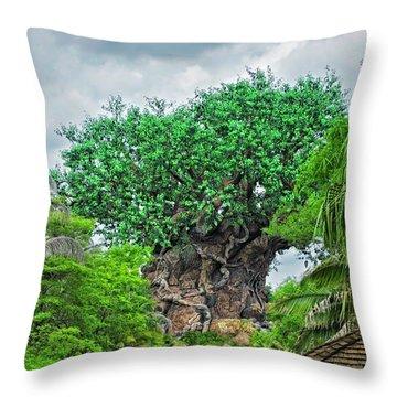 The Living Tree Walt Disney World Mp Throw Pillow