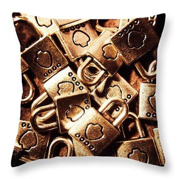 The Lockery Throw Pillow