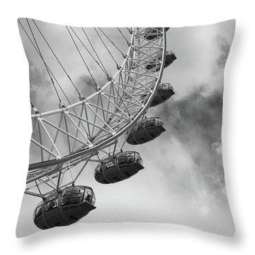 The London Eye, London, England Throw Pillow