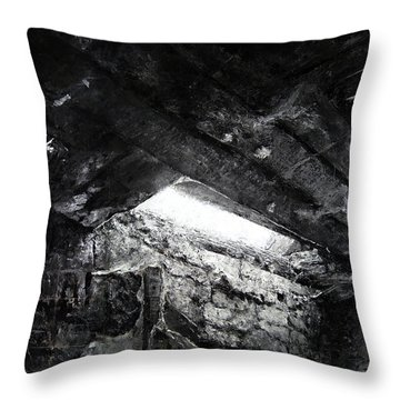 The Long Bright Dark Throw Pillow