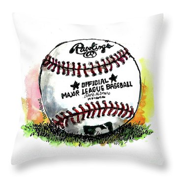 The Long Season Begins Throw Pillow