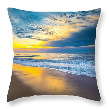 Throw Pillow featuring the photograph The Long Way by Steven Ainsworth
