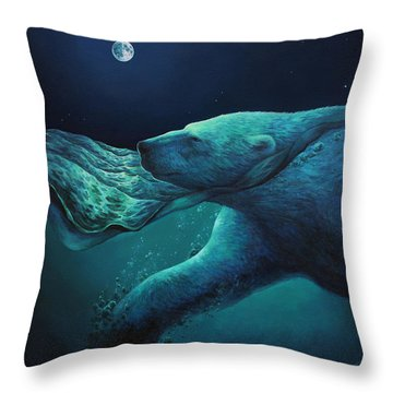 The Longest Night Throw Pillow