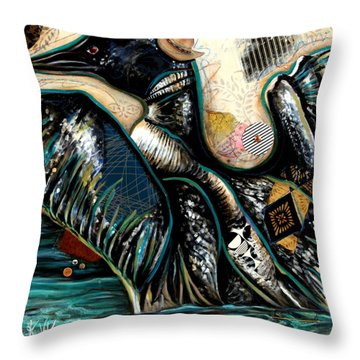 The Loon Throw Pillow