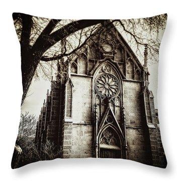 The Loretto Chapel Throw Pillow
