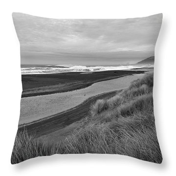 The Lost Coast Throw Pillow