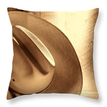 The Lost Hat Throw Pillow