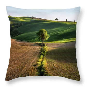 The Lost Love Tree Throw Pillow