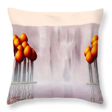 The Lost Ones Throw Pillow