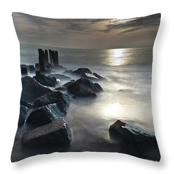The Lost Shores Throw Pillow