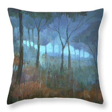 The Lost Trail Throw Pillow