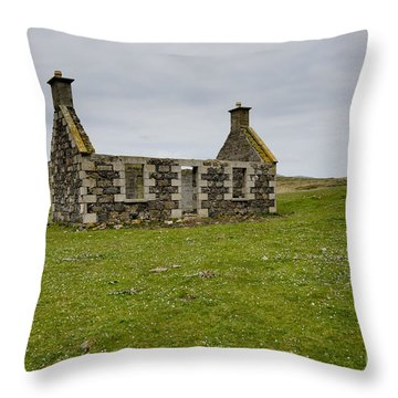 The Lost Village Throw Pillow