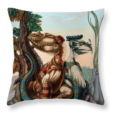The Lost World  By Sir Arthur Conan Doyle Throw Pillow