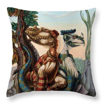 The Lost World  By Sir Arthur Conan Doyle Throw Pillow