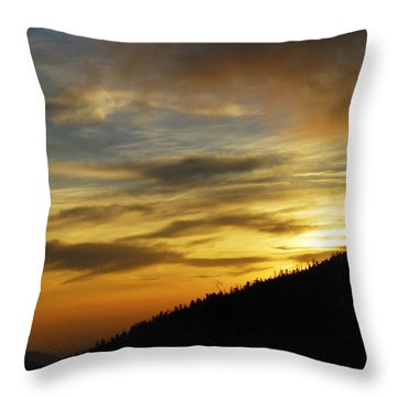 The Loud Music Of The Sky Throw Pillow