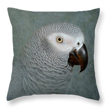 The Love Of A Gray Throw Pillow