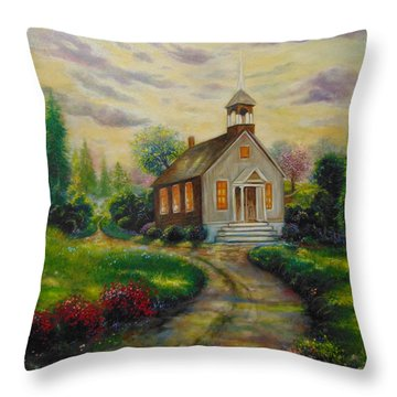 The Love Of God Throw Pillow