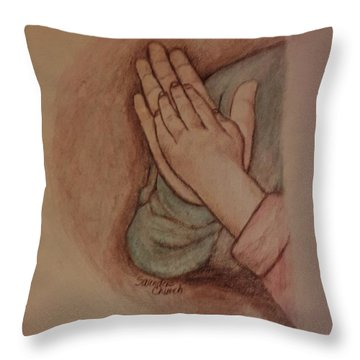 The Love Of Sisters Throw Pillow by Christy Saunders Church