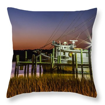 The Low Country Way - Folly Beach Sc Throw Pillow