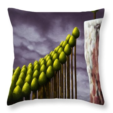 The Lucky One Throw Pillow
