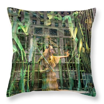 Throw Pillow featuring the photograph The Lure Of The Wild by Alex Lapidus