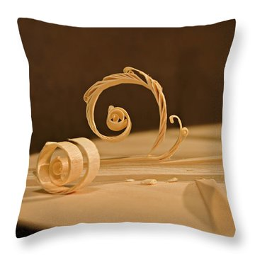 The Luthiers Art Throw Pillow by Grant Groberg