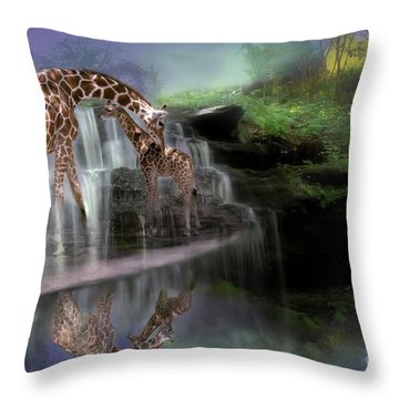 The Magical Bond Throw Pillow