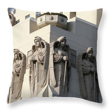 The Macarthur Guardians Throw Pillow