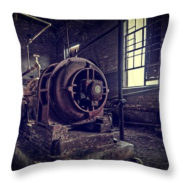 The Machine Throw Pillow by Everet Regal