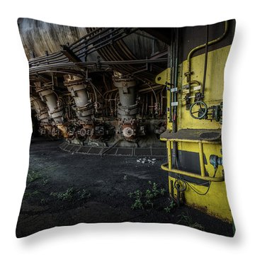 The Machinist Throw Pillow
