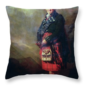 The Macnab Throw Pillow