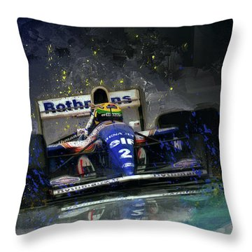 The Maestro Throw Pillow
