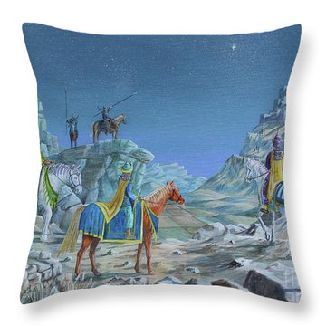 The Magi Throw Pillow