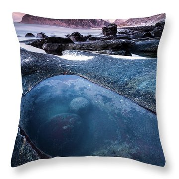 The Magic Eye Throw Pillow