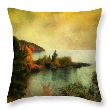 The Magic Hour Throw Pillow