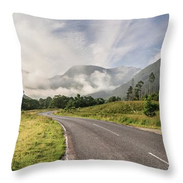 The Magic Morning Throw Pillow by Sergey Simanovsky