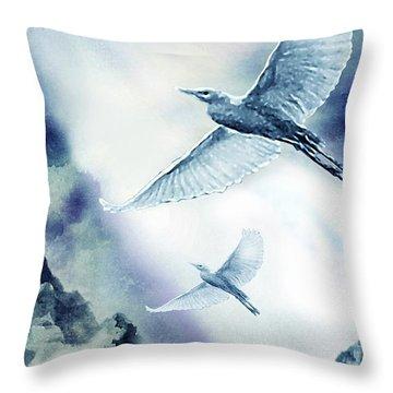 The Magic Of Flight Throw Pillow