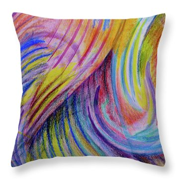 The Magic Of Music Throw Pillow