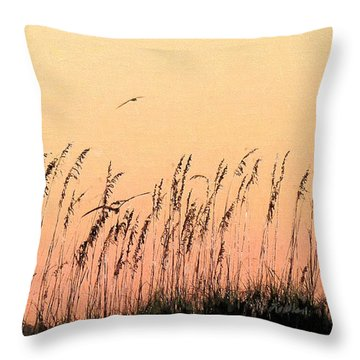 The Magic Of South Walton Throw Pillow