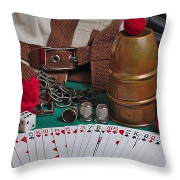 The Magician's Retreat Throw Pillow