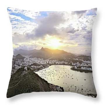 The Magnificent City Throw Pillow