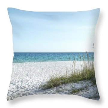 The Magnificent Destin, Florida Gulf Coast  Throw Pillow