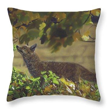 The Fantastic Mr Fox Throw Pillow