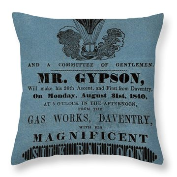 The Magnificent Mr. Gypson Throw Pillow