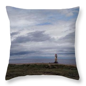 The Main View Throw Pillow