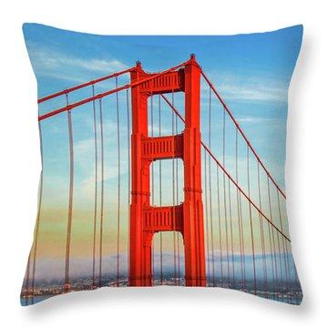 The Majestic Throw Pillow by Az Jackson