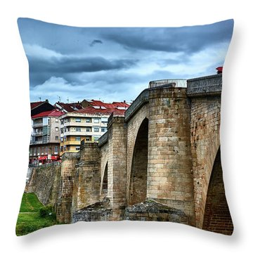The Majestic Ponte Vella Throw Pillow