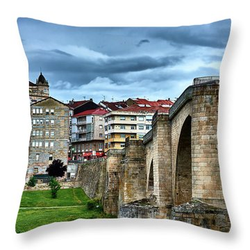 The Majestic Ponte Vella Throw Pillow