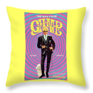The Man From Camp Throw Pillow